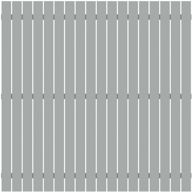 Sichtschutzzaun Element Squadra Grau 180 Cm X 180 Cm Kaufen Bei Obi