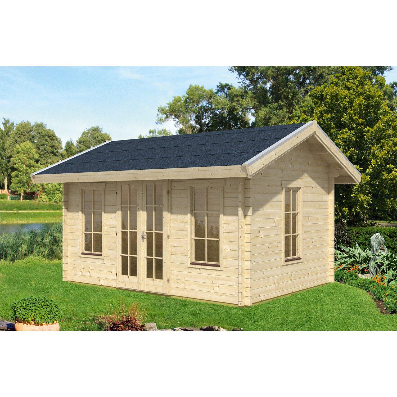 Skanholz Skan Holz-Gartenhaus Montreal 1 B x T 420 cm x 300 cm Basishaus