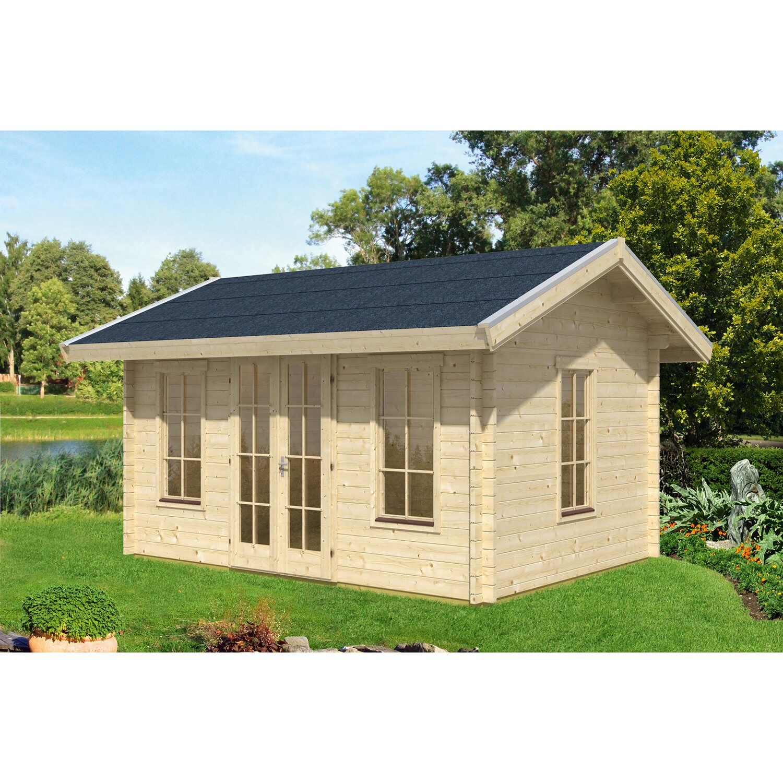 skan holz gartenhaus lugano 1 b x t 420 cm x 300 cm mit. Black Bedroom Furniture Sets. Home Design Ideas