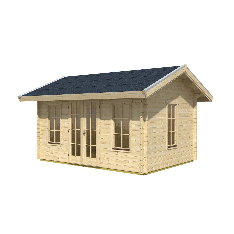skan holz gartenhaus montreal 1 b x t 420 cm x 300 cm mit dachschalung kaufen bei obi. Black Bedroom Furniture Sets. Home Design Ideas