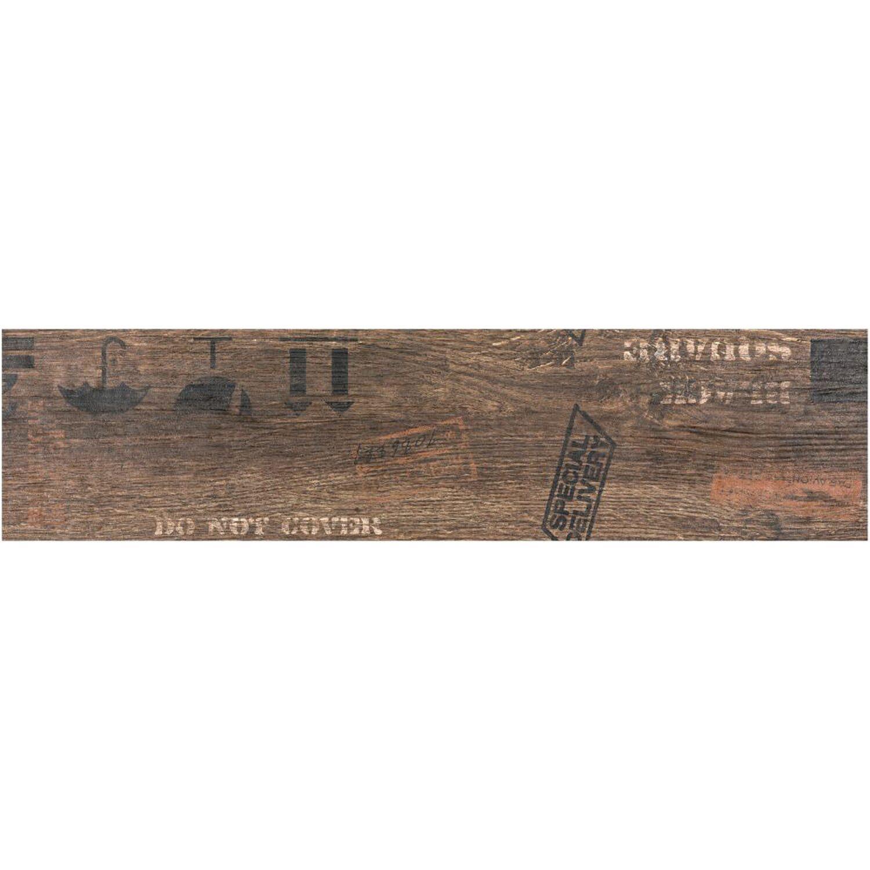 Sonstige Boden-Dekor Oregon Braun 15 cm x 60 cm
