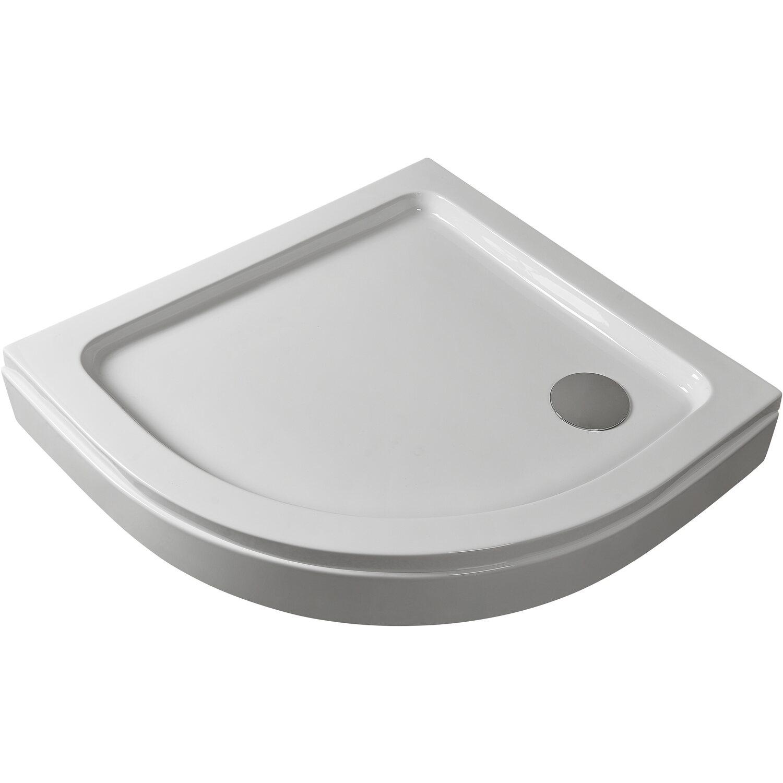 Sanotechnik Eck-Duschwanne 90 cm x 90 cm Weiß günstig online kaufen