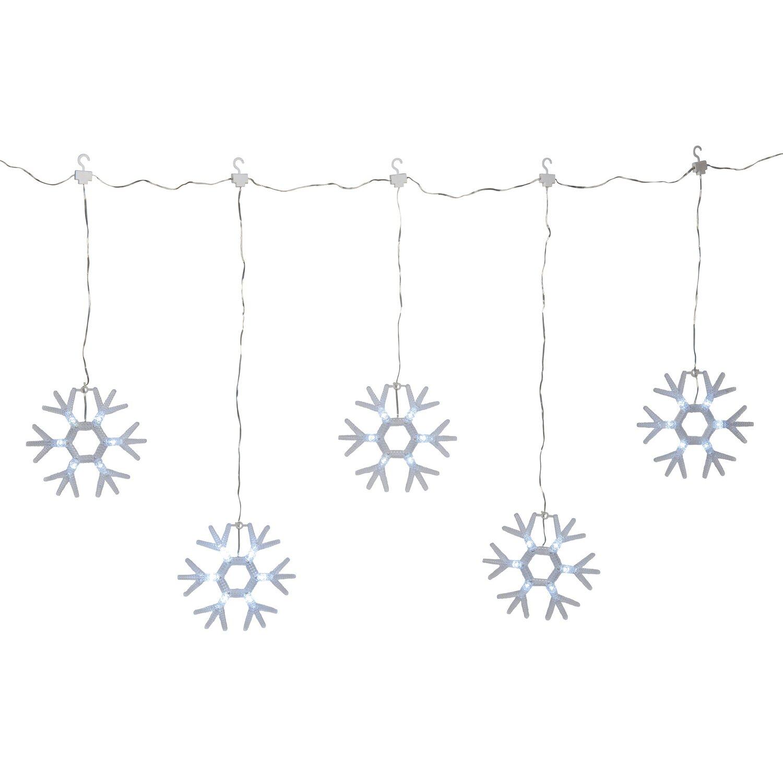 obi schneeflockenvorhang 36 led kaltwei 1 25 m x 0 5 m kaufen bei obi. Black Bedroom Furniture Sets. Home Design Ideas