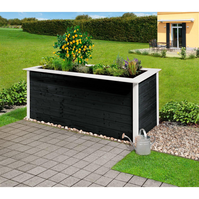 weka hochbeet herba 205 cm x 80 cm x 81 cm anthrazit wei kaufen bei obi. Black Bedroom Furniture Sets. Home Design Ideas