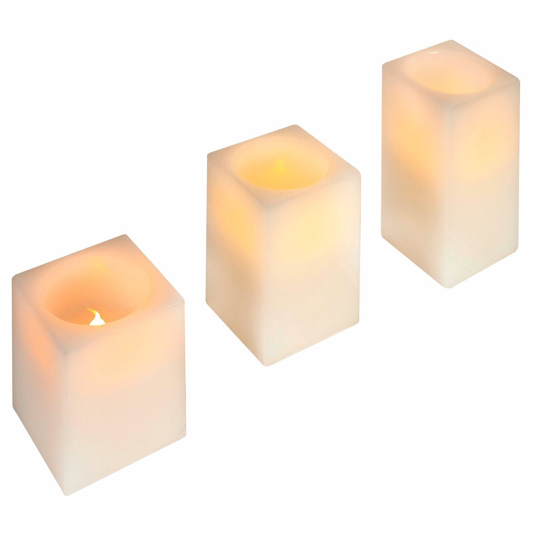 Obi led kerzen set 3 teilig warmwei kaufen bei obi for Obi weihnachten