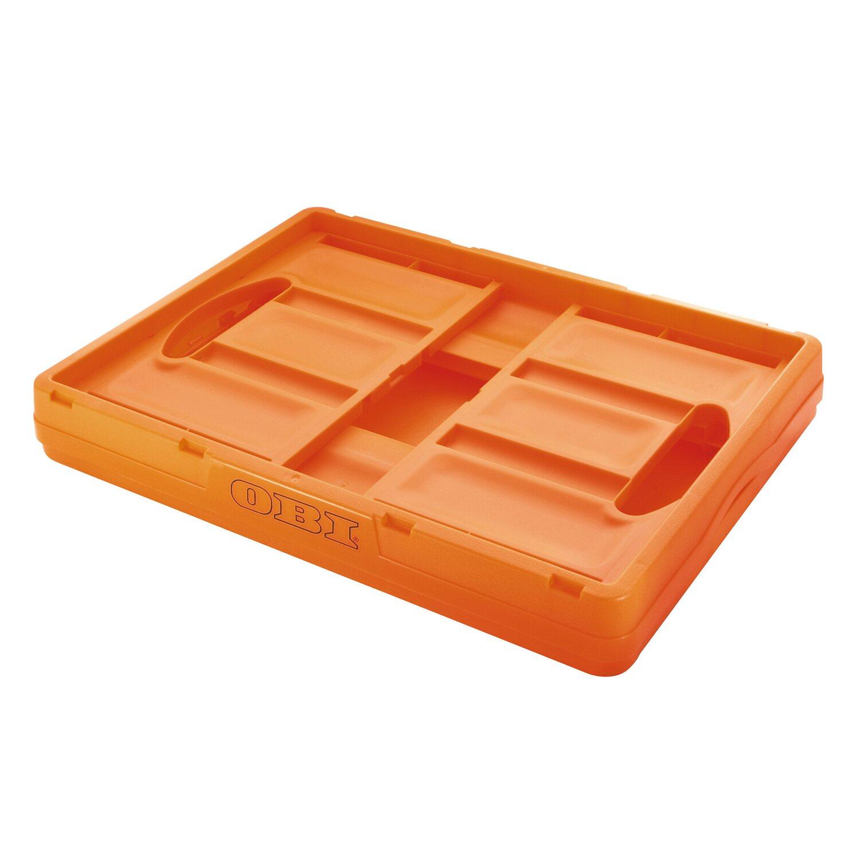 Obi klappbox orange 46 l kaufen bei obi for Sandfilteranlage bei obi