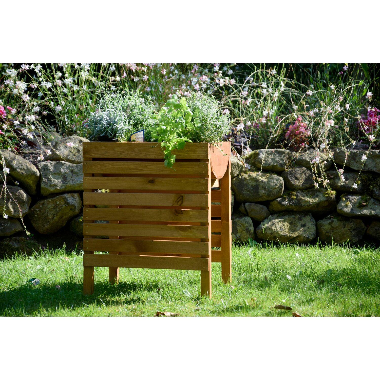 Dobar Hochbeet Aus Fsc Zertifiziertem Holz 71 Cm X 36 Cm X 58 Cm