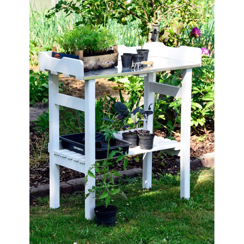 wei er pflanztisch aus impr gniertem robustem kiefernholz kaufen bei obi. Black Bedroom Furniture Sets. Home Design Ideas