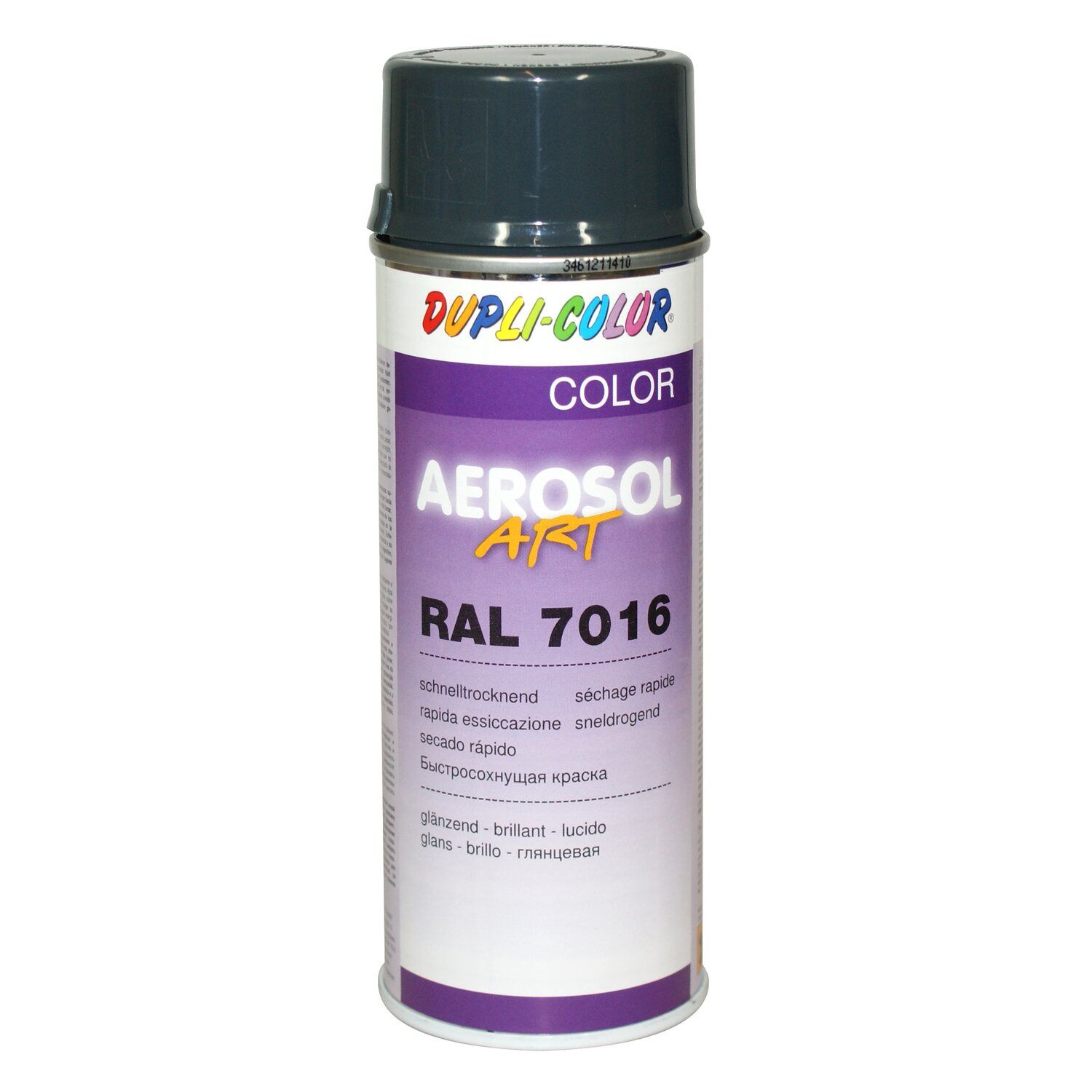 Dupli-Color Lackspray Aerosol-Art RAL 7016 Anthrazitgrau 400 ml ...