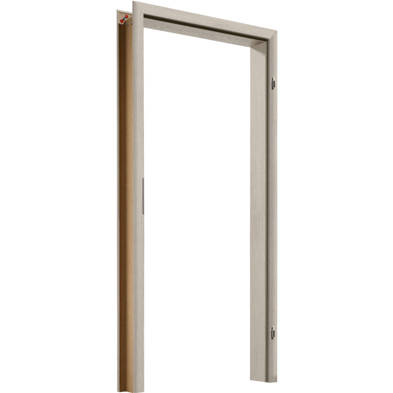 Zarge CPL Eiche Silber 73,5 cm x 10 cm Anschlag Rechts/Links kaufen ...