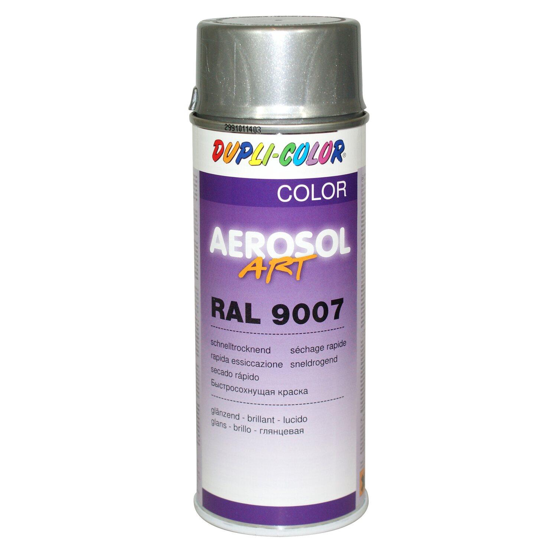 dupli color lackspray aerosol art ral 9007 aluminiumgrau 400 ml kaufen bei obi. Black Bedroom Furniture Sets. Home Design Ideas