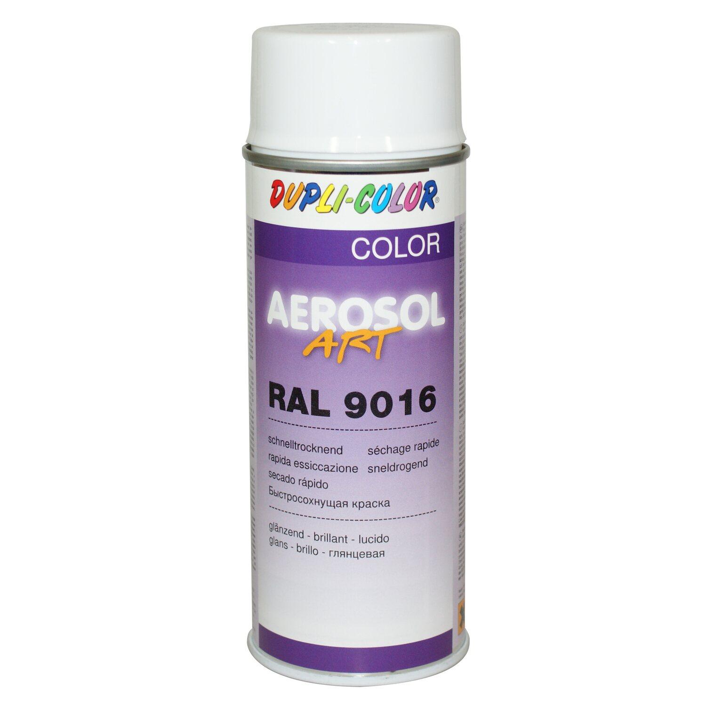 dupli color lackspray aerosol art ral 9016 verkehrswei 400 ml kaufen bei obi. Black Bedroom Furniture Sets. Home Design Ideas