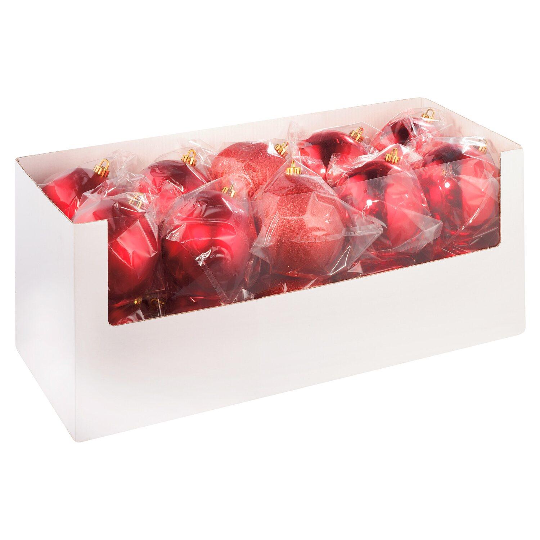 Christbaumkugeln Rot 15 Cm.Xxl Christbaumkugel 14 Cm Rot Kaufen Bei Obi
