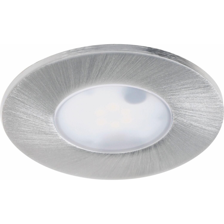 iDual  LED-Einbauleuchte EEK: A+ Performa Aluminium 1er-Set