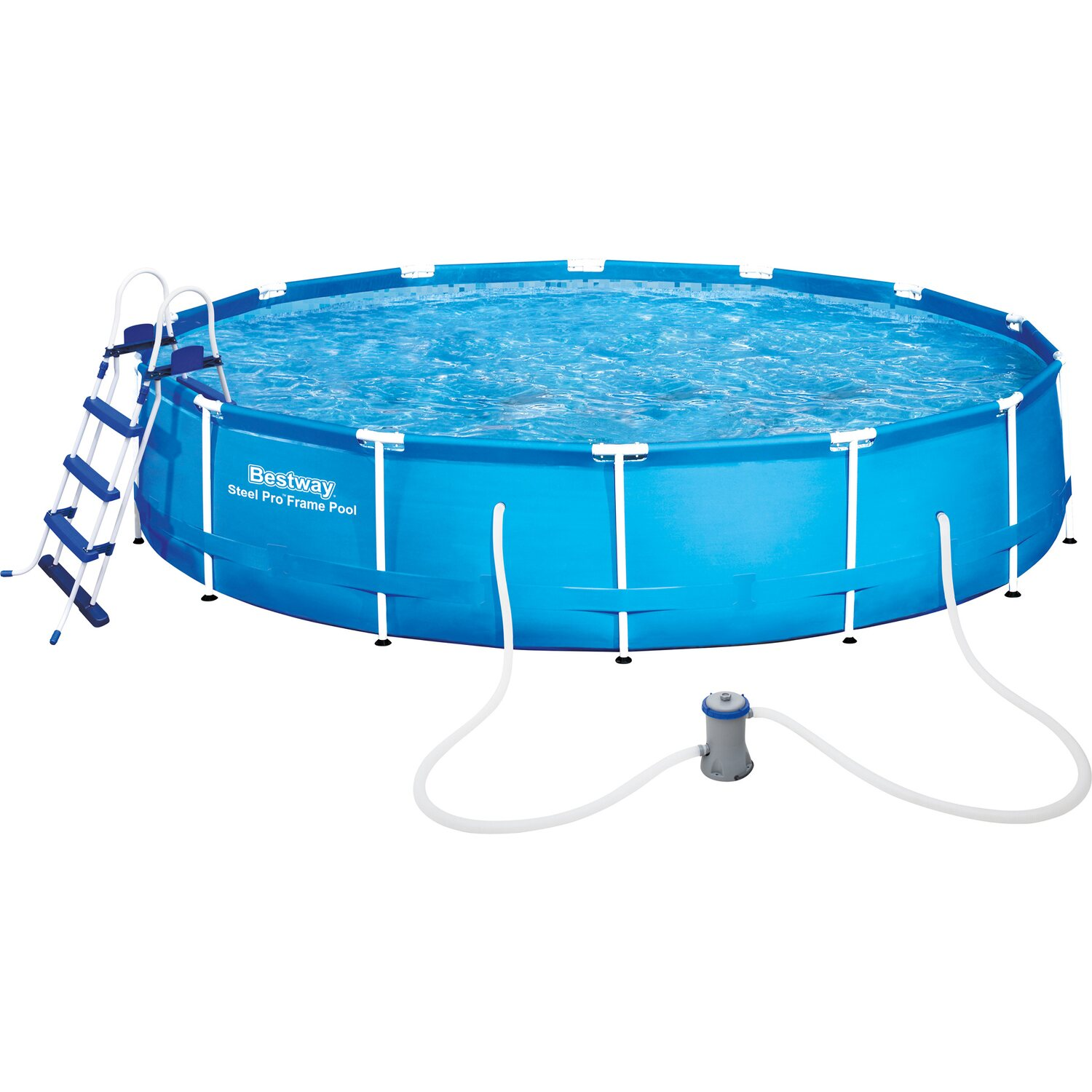 Bestway stahlrahmen swimming pool set 457 cm x 91 cm for Bestway pool bei obi