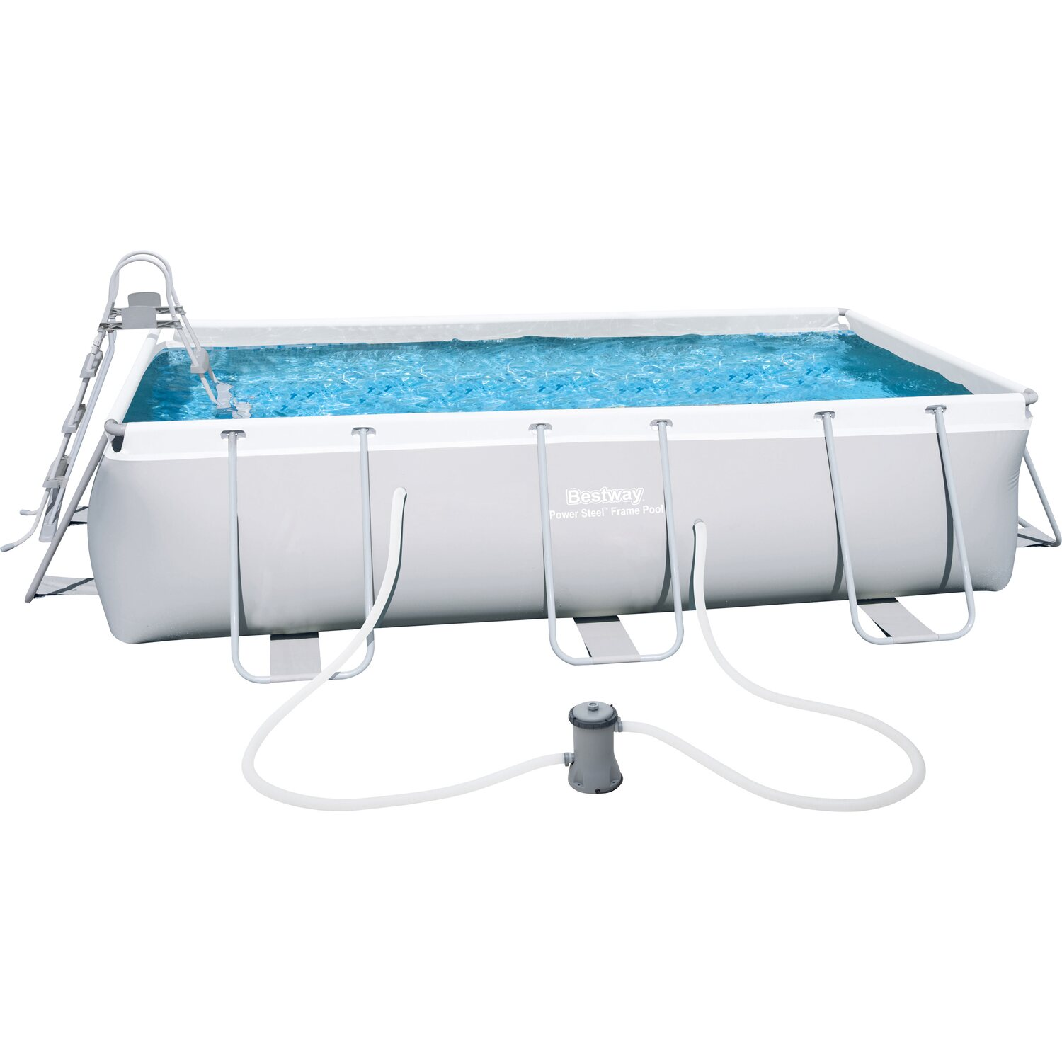 Gartenpool eckig swalif for Bestway pool bei obi