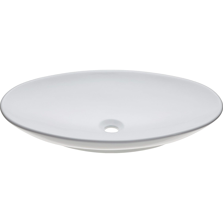baliv Aufsatzwaschbecken WBA-7060 Oval 70 mm x 42 cm | Bad > Waschbecken | baliv