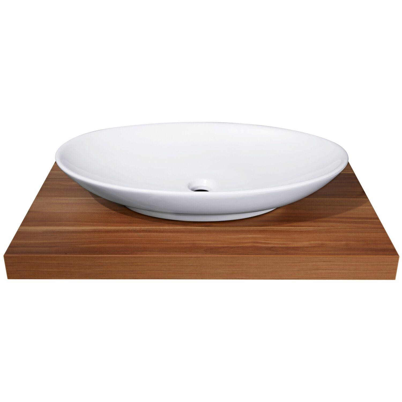 obi aufsatzwaschbecken samar 70 x 42 cm rund kaufen bei obi. Black Bedroom Furniture Sets. Home Design Ideas