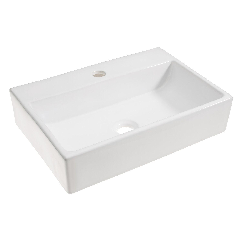 Waschbecken rechteckig  Eckig Waschbecken online kaufen bei OBI