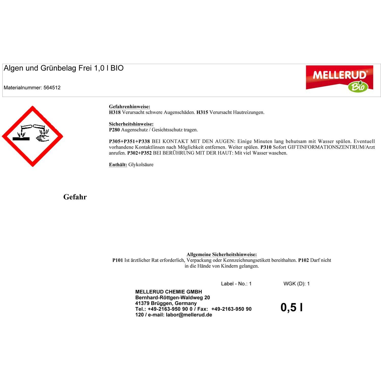Mellerud Bio Algen Und Moosfrei Nachfullflasche 1 L Kaufen Bei Obi