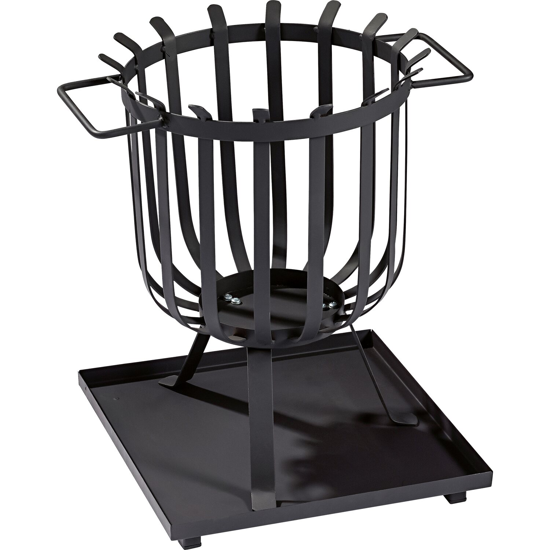 cmi feuerkorb schwarz 35 cm x 47 cm kaufen bei obi. Black Bedroom Furniture Sets. Home Design Ideas