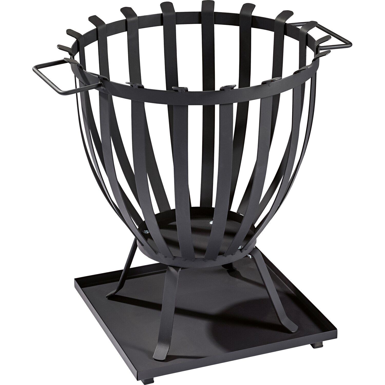 cmi feuerkorb schwarz 47 cm x 57 cm kaufen bei obi. Black Bedroom Furniture Sets. Home Design Ideas