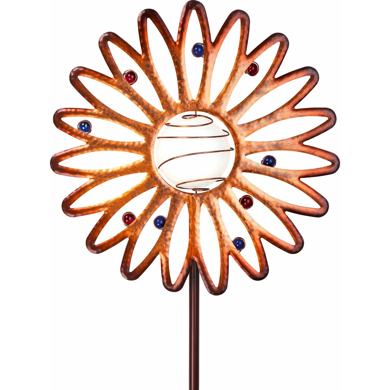 Top OBI LED-Solarleuchte Casiole Blume kaufen bei OBI DQ83