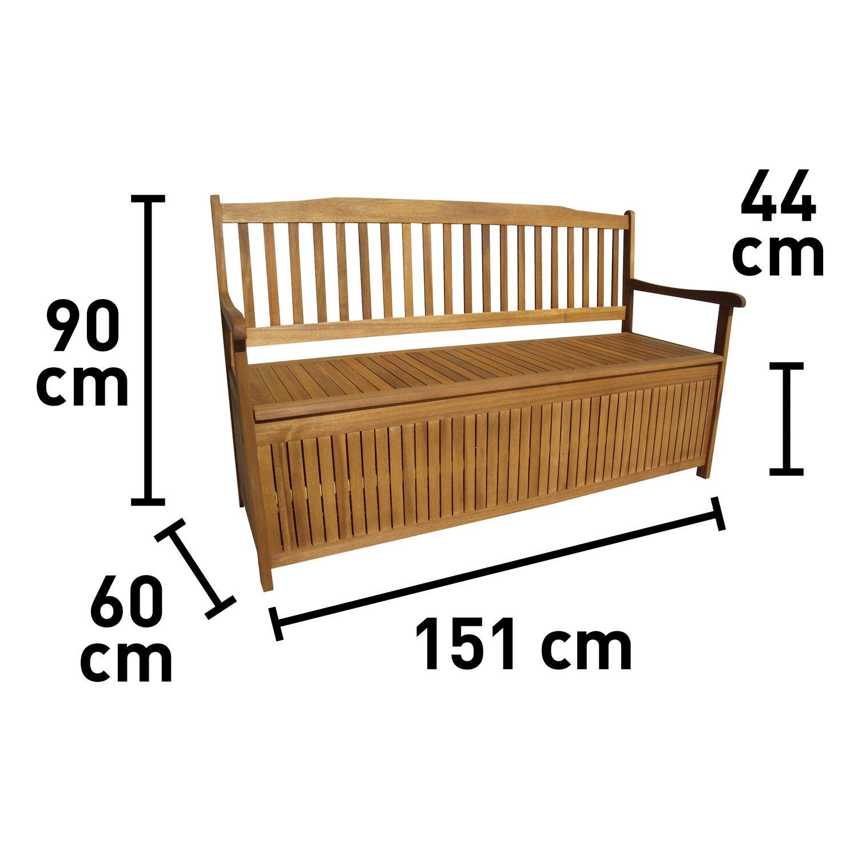 Gartenbank Panaca 20 Sitzer FSC® 20 cm x 20 cm x 20 cm kaufen bei OBI