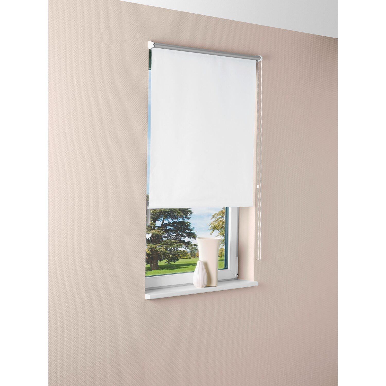 OBI Sonnenschutz-Rollo Pamplona 45 cm x 175 cm Weiß kaufen bei OBI