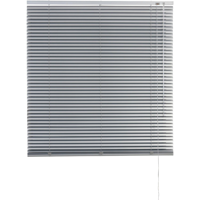 Obi Aluminium Jalousie Burgos 50 Cm X 160 Cm Silber