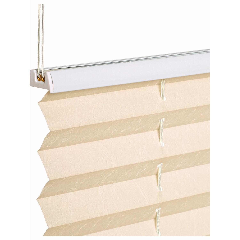 obi verspanntes plissee milena 45 cm x 130 cm beige kaufen. Black Bedroom Furniture Sets. Home Design Ideas