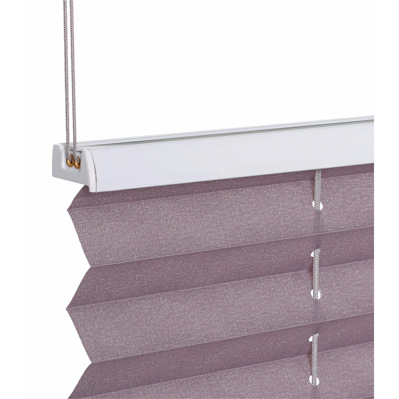 obi verspanntes plissee milena 45 cm x 130 cm grau kaufen bei obi. Black Bedroom Furniture Sets. Home Design Ideas
