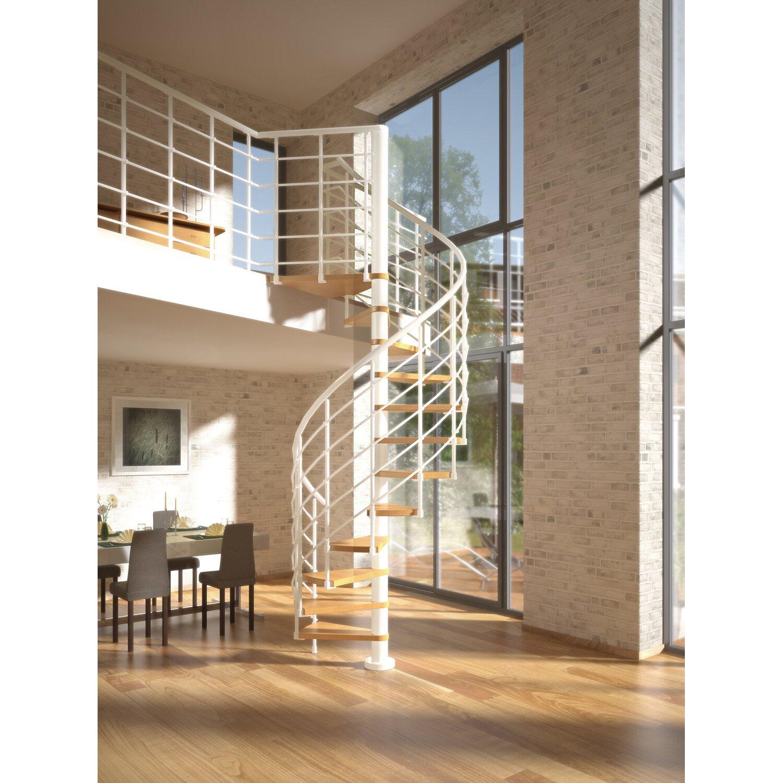 dolle spindeltreppe oslo buche mit podest 120 cm kaufen bei obi. Black Bedroom Furniture Sets. Home Design Ideas