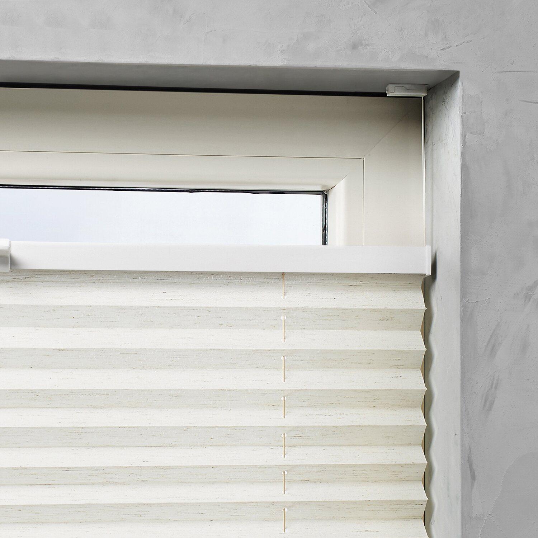 cocoon plissee verspannt 20 mm leinen 40 cm x 130 cm. Black Bedroom Furniture Sets. Home Design Ideas