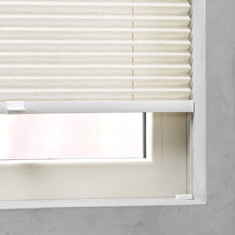 cocoon plissee verspannt 20 mm leinen 70 cm x 130 cm kaufen bei obi. Black Bedroom Furniture Sets. Home Design Ideas