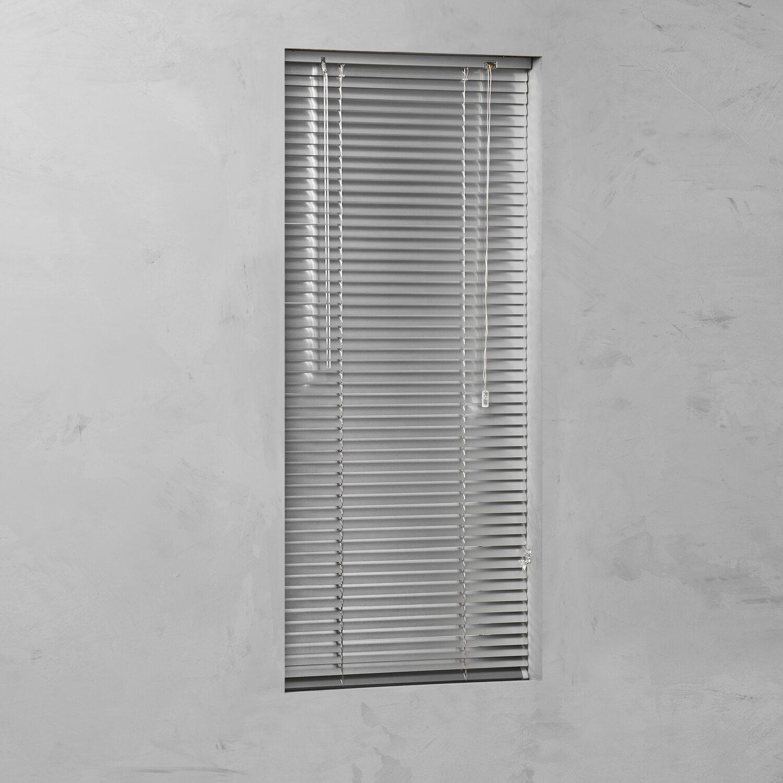 Cocoon Alu-Jalousie 25 mm Silber 90 cm x 130 cm | Heimtextilien > Jalousien und Rollos | Cocoon
