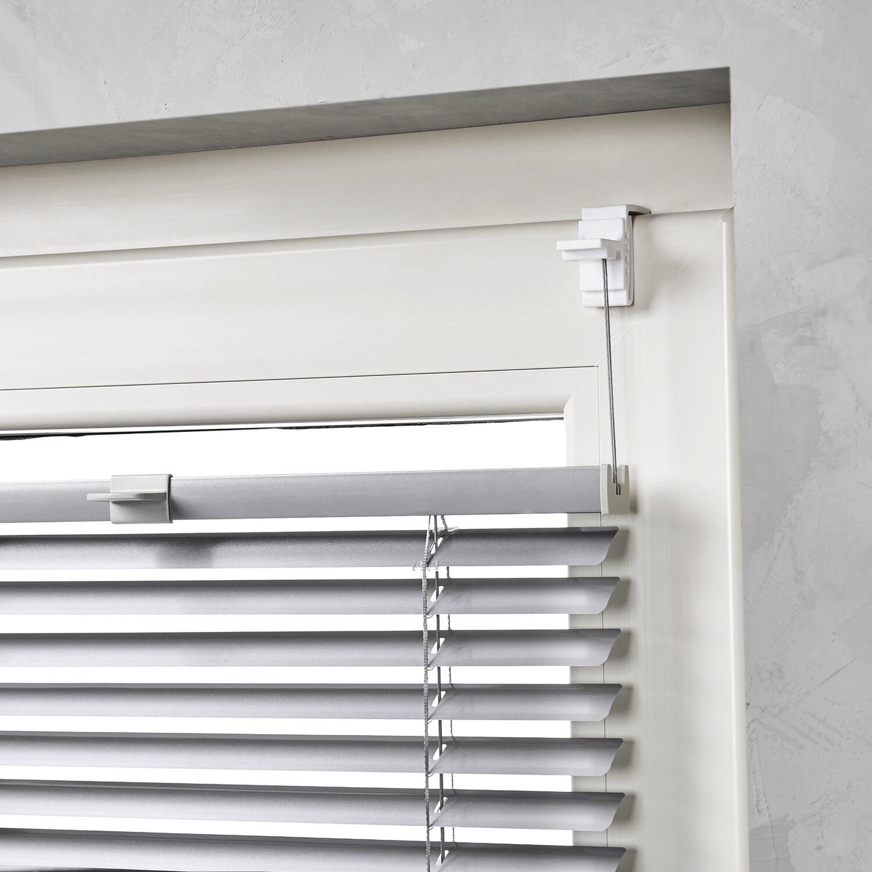 cocoon alu jalousie verspannt 25 mm silber 45 cm x 130 cm. Black Bedroom Furniture Sets. Home Design Ideas