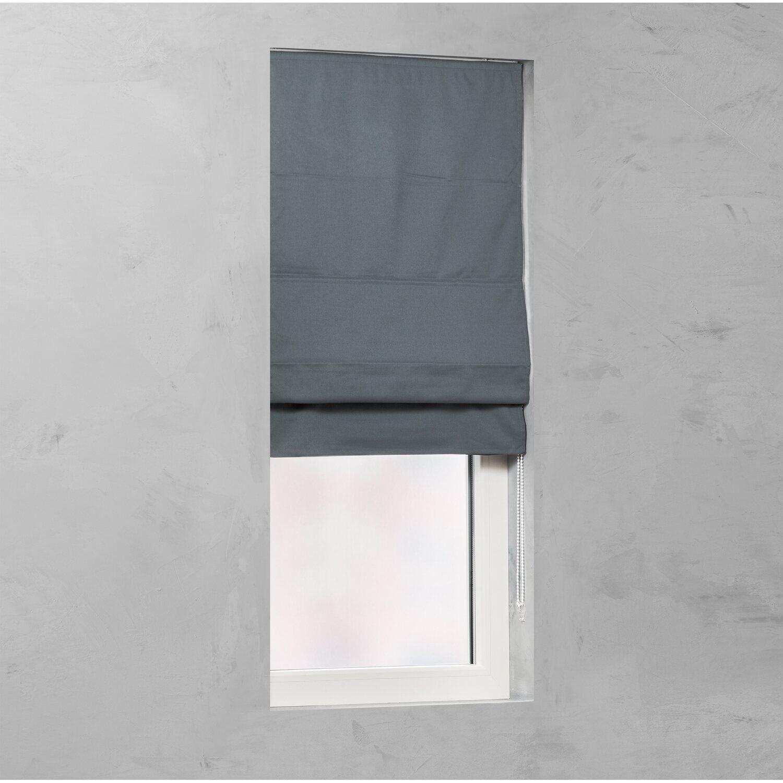 cocoon raffrollo verdunklung 25 mm dunkelgrau 120 cm x 170 cm kaufen bei obi. Black Bedroom Furniture Sets. Home Design Ideas
