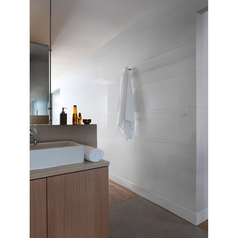 grosfillex paneel attitude weiss gl nzend 260 x 37 5 cm kaufen bei obi. Black Bedroom Furniture Sets. Home Design Ideas