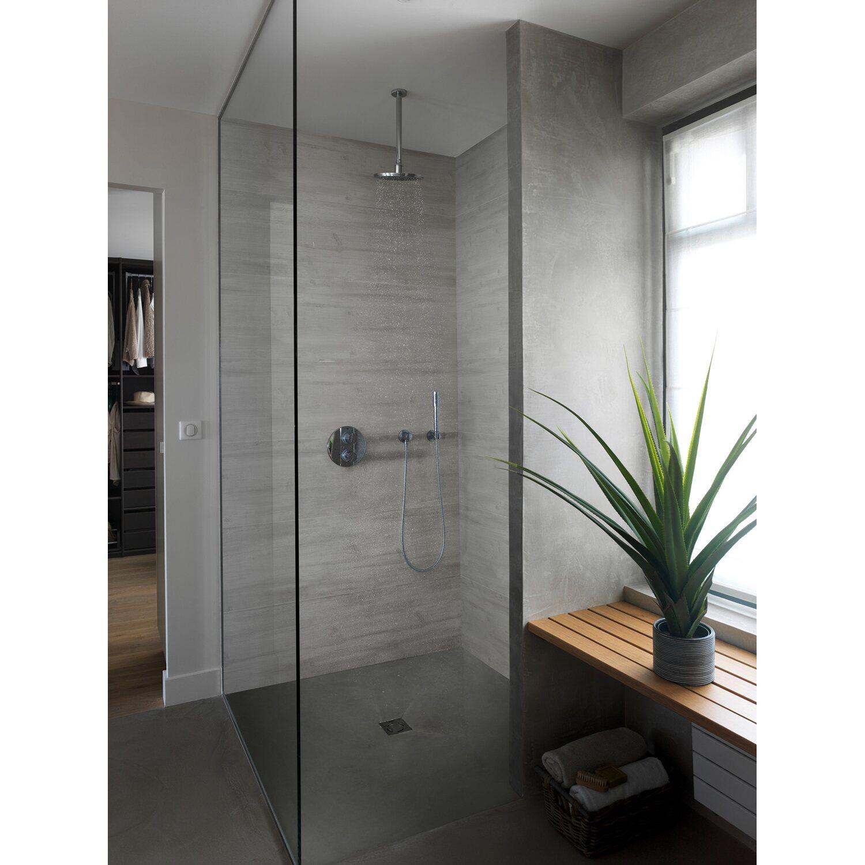 grosfillex paneel attitude holznachbildung grau 120 x 37 5 cm kaufen bei obi. Black Bedroom Furniture Sets. Home Design Ideas