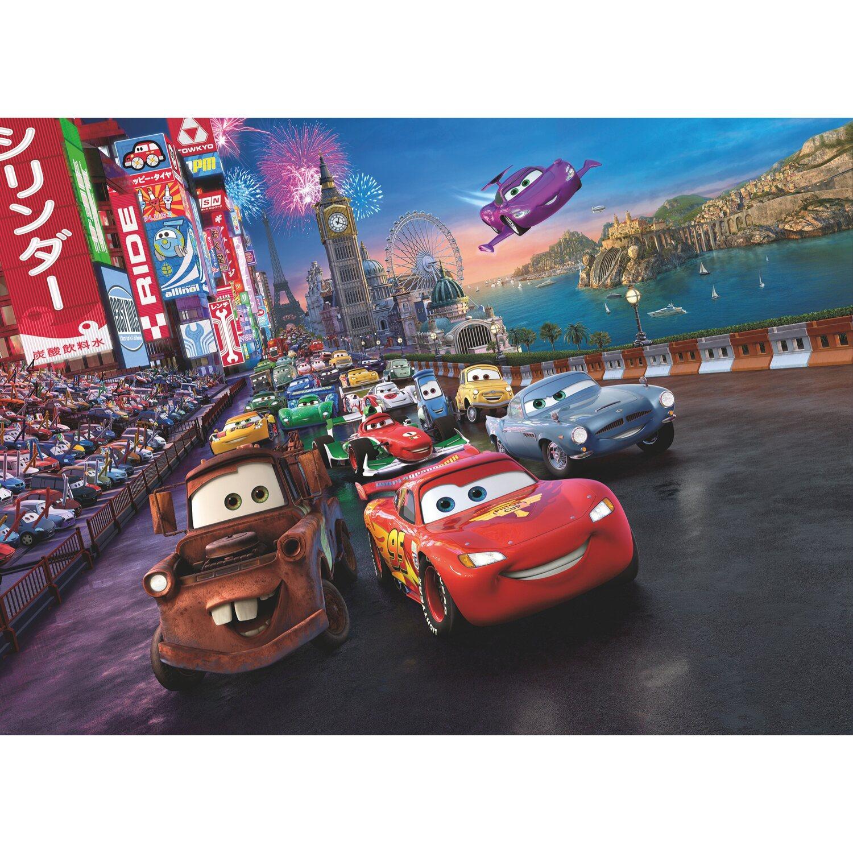 Komar Fototapete Disney Cars Race 254 cm x 184 cm