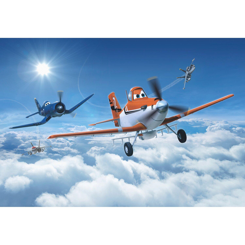 Komar Fototapete Disney Planes above the Clouds 368 cm x 254 cm | Baumarkt > Malern und Tapezieren > Tapeten | Komar