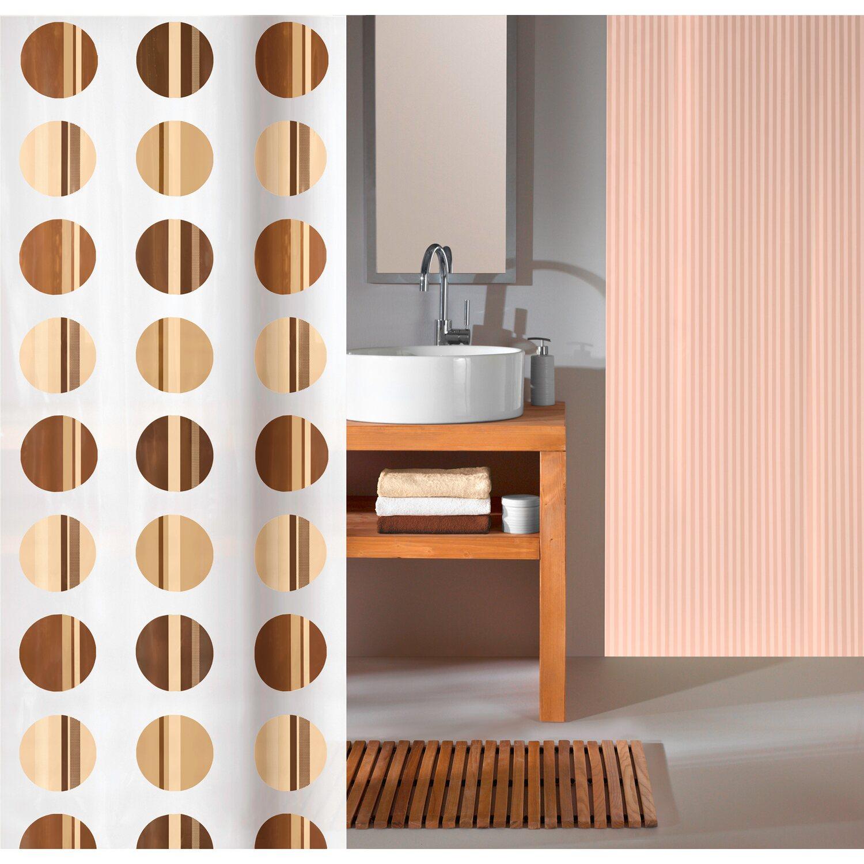 obi duschvorhang point deco line 180 cm x 200 cm toffee. Black Bedroom Furniture Sets. Home Design Ideas