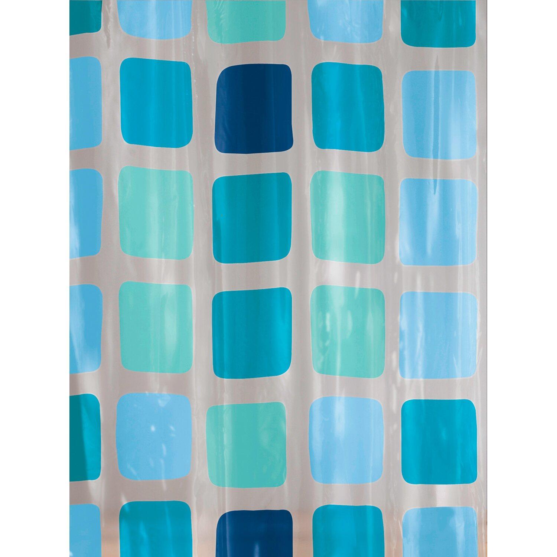 OBI Duschvorhang Mary 120 cm x 200 cm Blue Preisvergleich