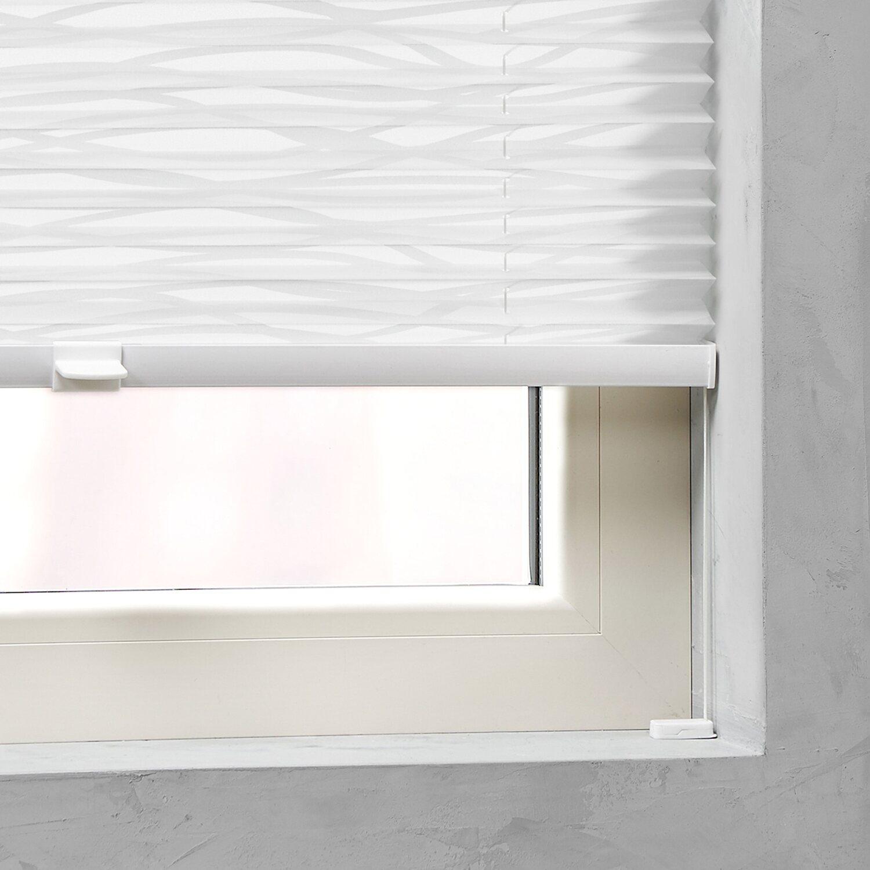 cocoon plissee verspannt 20 mm dessin wave 40 cm x 130 cm kaufen bei obi. Black Bedroom Furniture Sets. Home Design Ideas