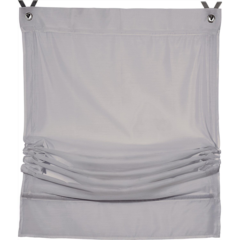 raffrollo easyfix 120 cm x 170 cm grau kaufen bei obi. Black Bedroom Furniture Sets. Home Design Ideas