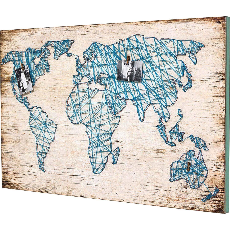 Besondere Geschenkideen in Ihrer Nähe: Wandbild Weltkarte, 120 cm