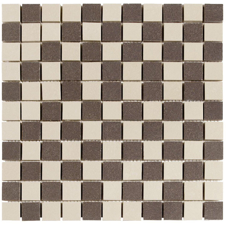 mosaik metropolitan beige braun 30 cm x 30 cm kaufen bei obi. Black Bedroom Furniture Sets. Home Design Ideas
