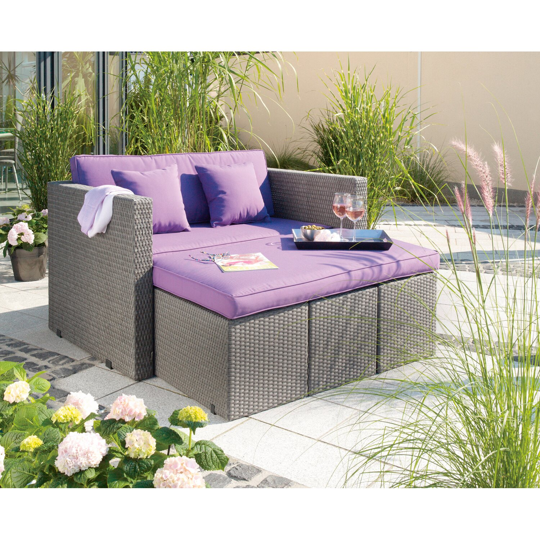 Gartenmöbel set rattan obi  OBI Multifunktions-Gartenmöbel-Gruppe Aventura 7-teilig kaufen bei OBI