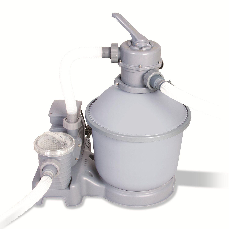Bestway sandfilterpumpe l h gallonen kaufen for Obi sandfilterpumpe